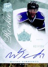 2008-09 The Cup #65 Wayne Simmonds AU RC