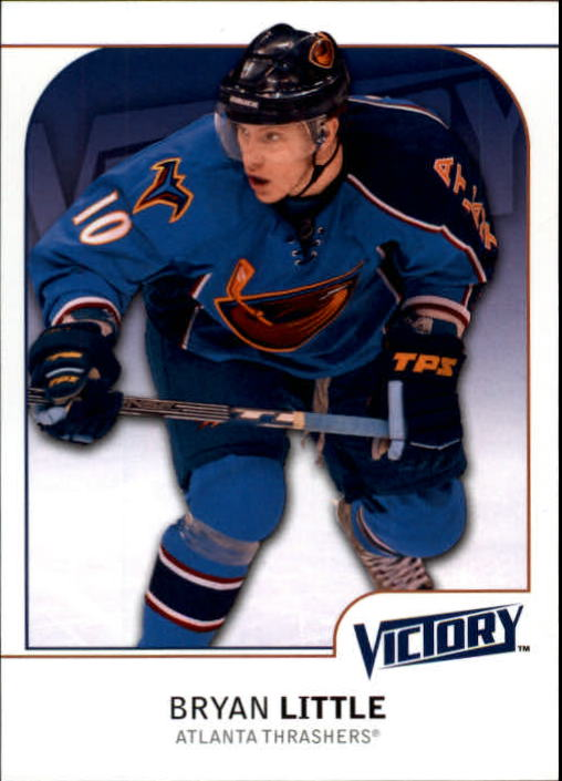 2009-10 Upper Deck Victory #6 Bryan Little
