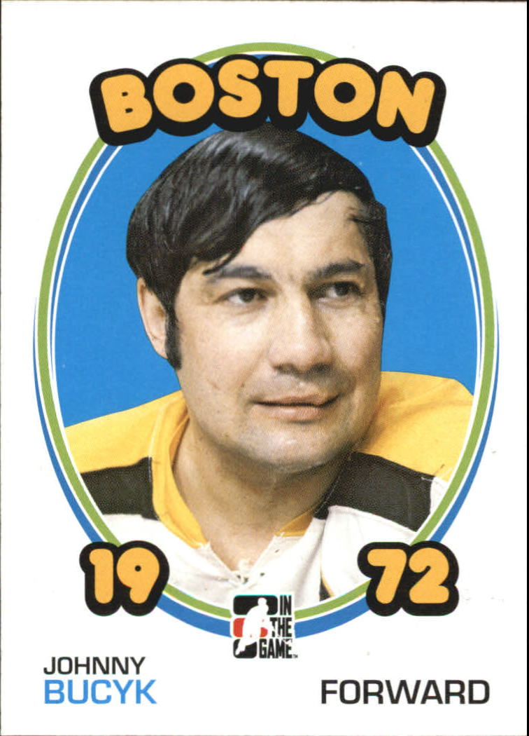 2009-10 ITG 1972 The Year In Hockey #2 Johnny Bucyk