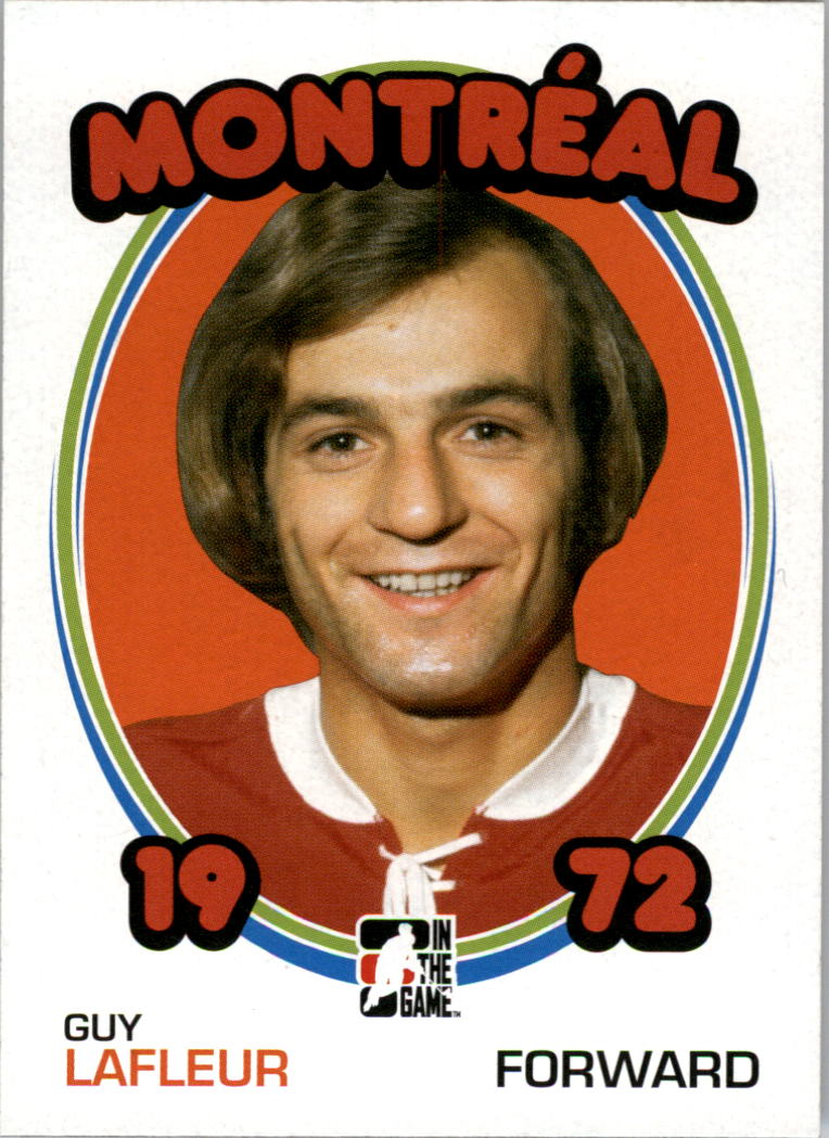 2009-10 ITG 1972 The Year In Hockey #13 Guy Lafleur