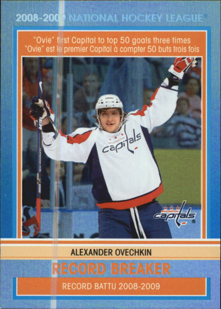 2009-10 O-Pee-Chee Record Breakers #RB2 Alexander Ovechkin
