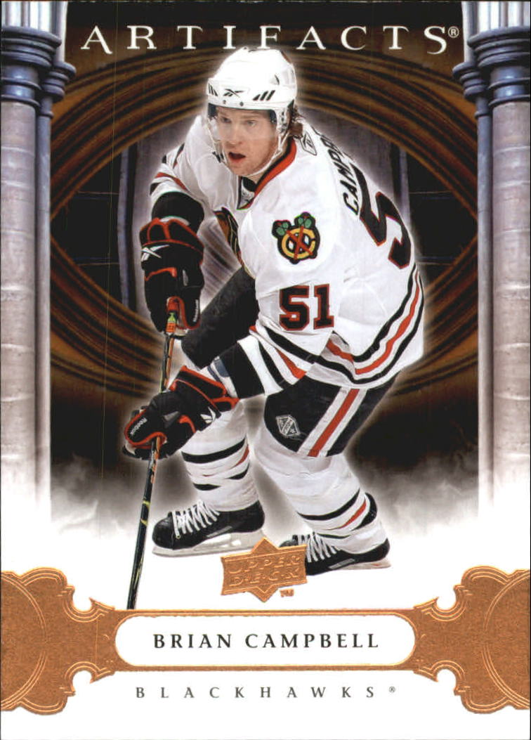 2009-10 Artifacts #4 Brian Campbell
