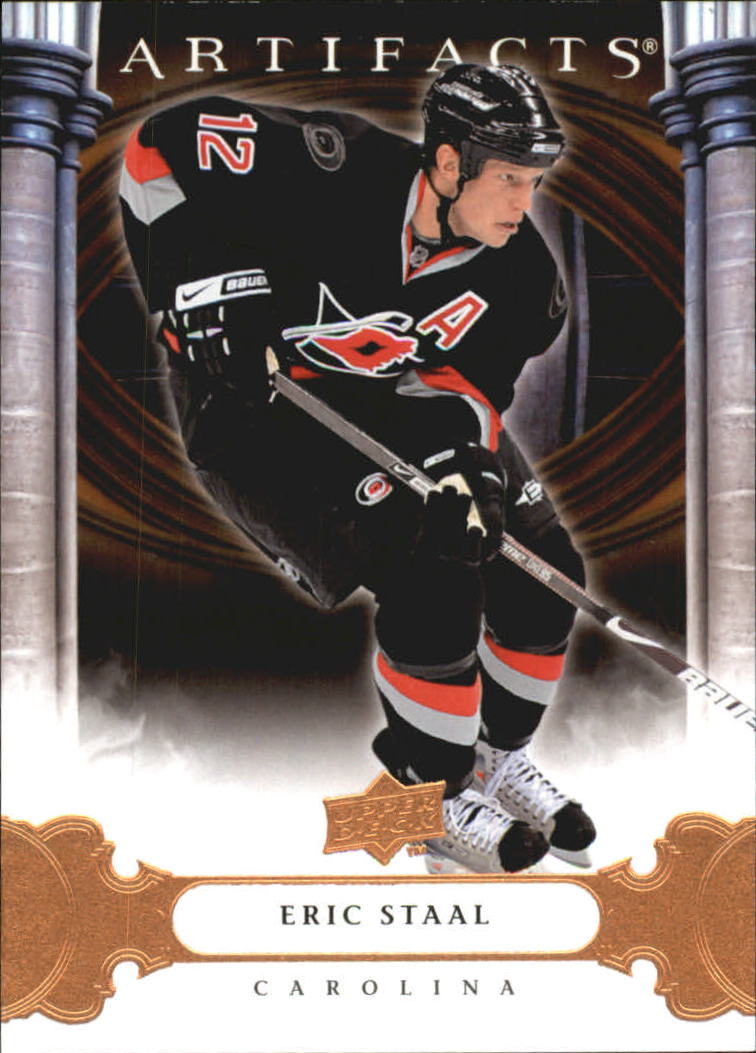 2009-10 Artifacts #9 Eric Staal
