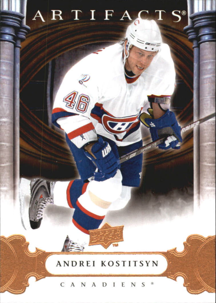 2009-10 Artifacts #21 Andrei Kostitsyn
