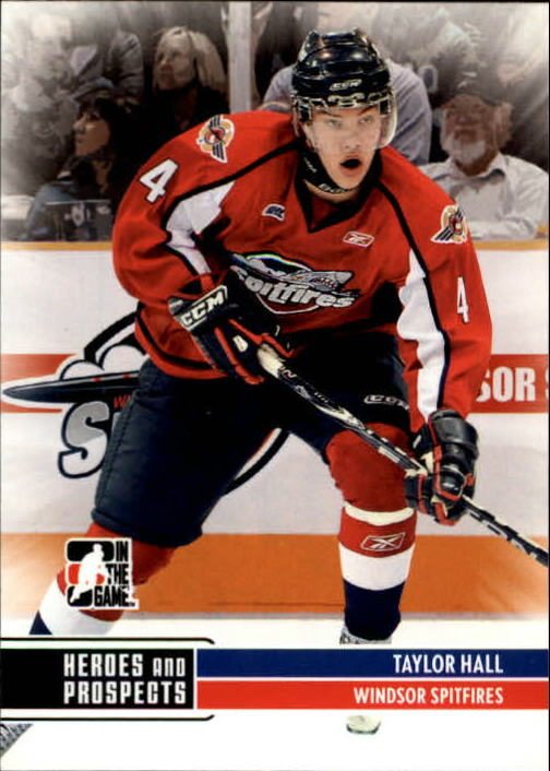 2009-10 ITG Heroes and Prospects #95 Taylor Hall