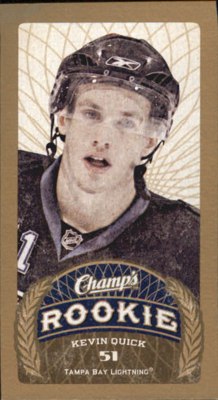 2009-10 Upper Deck Champ's #146 Kevin Quick RC