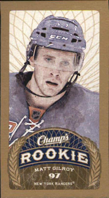 2009-10 Upper Deck Champ's #154 Matt Gilroy RC