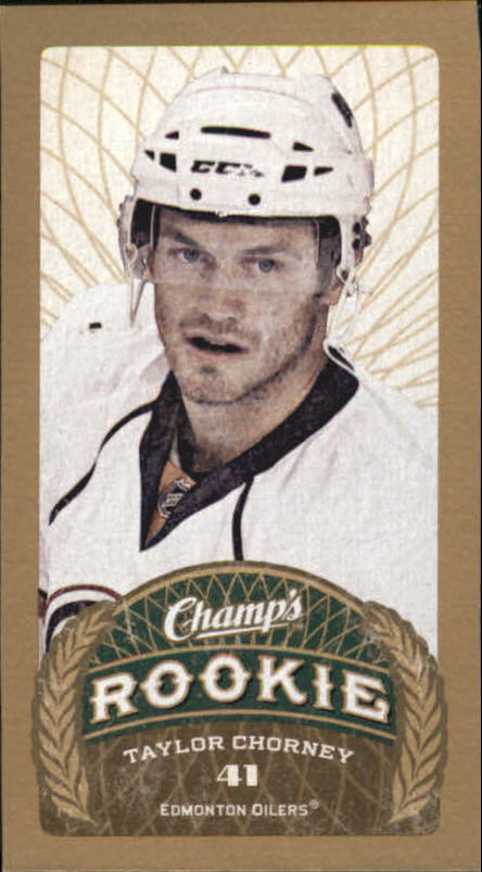 2009-10 Upper Deck Champ's #179 Taylor Chorney RC