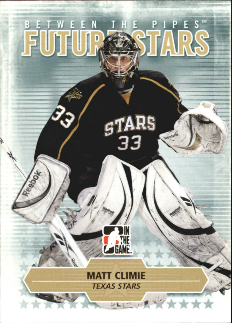 2009-10 Between The Pipes #22 Matt Climie