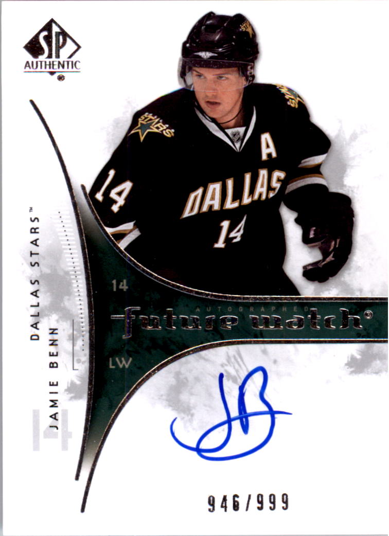 2009-10 SP Authentic #223 Jamie Benn AU RC