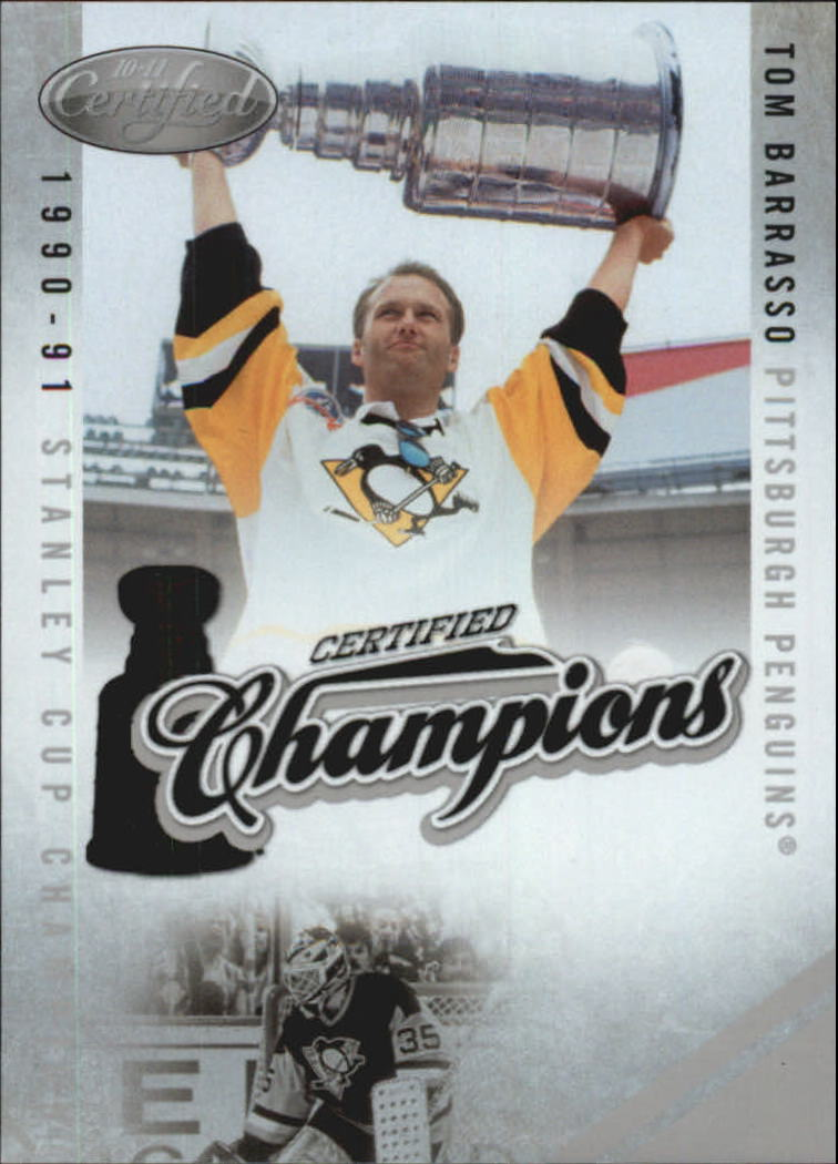 2010-11 Certified Champions #22 Tom Barrasso