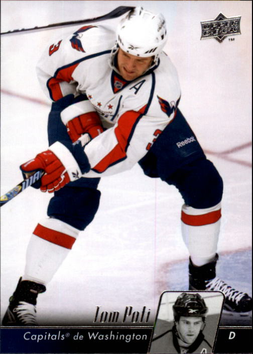 2010-11 Upper Deck French #6 Tom Poti