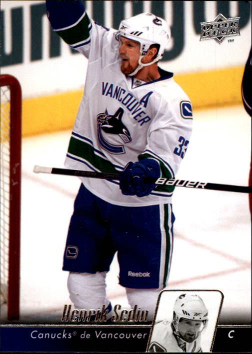 2010-11 Upper Deck French #7 Henrik Sedin