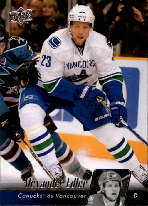 2010-11 Upper Deck French #10 Alexander Edler