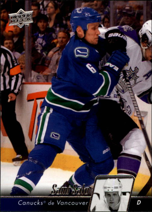 2010-11 Upper Deck French #13 Sami Salo