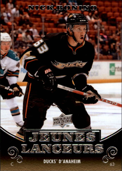 2010-11 Upper Deck French #202 Nick Bonino YG RC