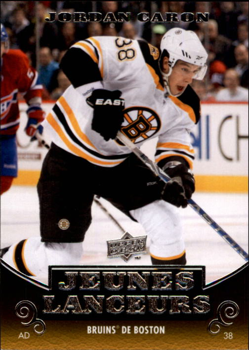 2010-11 Upper Deck French #205 Jordan Caron YG RC