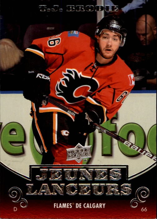 2010-11 Upper Deck French #210 T.J. Brodie YG RC