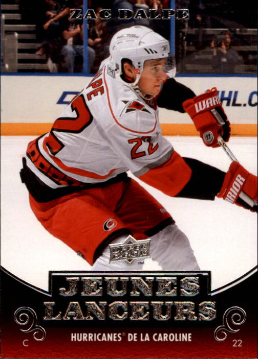 2010-11 Upper Deck French #212 Zac Dalpe YG RC