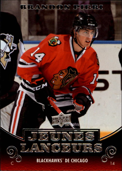2010-11 Upper Deck French #215 Brandon Pirri YG RC