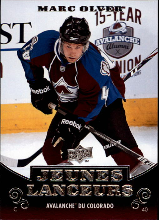 2010-11 Upper Deck French #216 Mark Olver YG RC