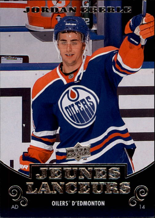2010-11 Upper Deck French #220 Jordan Eberle YG RC