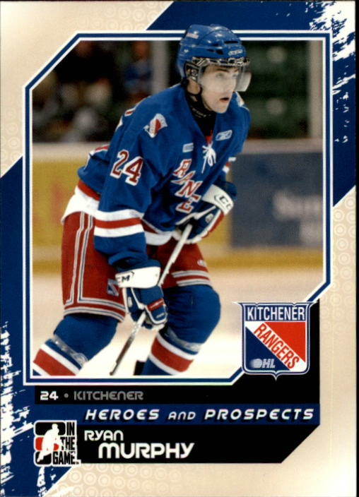 2010-11 ITG Heroes and Prospects #14 Ryan Murphy