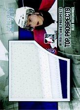 2010-11 ITG Heroes and Prospects Top Prospects Game Used Jerseys Silver #JM03 Alex Hutchings