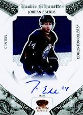 2010-11 Crown Royale #116 Taylor Hall JSY AU RC