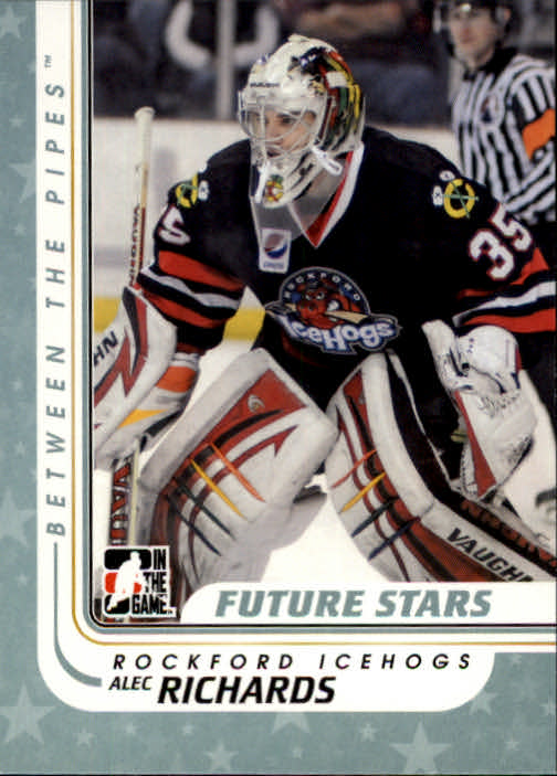 2010-11 Between The Pipes #46 Alec Richards