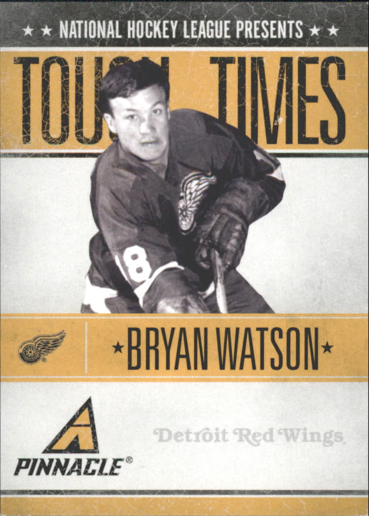 2010-11 Pinnacle Tough Times #BW Bryan Watson