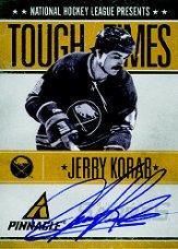 2010-11 Pinnacle Tough Times Autographs #JK Jerry Korab