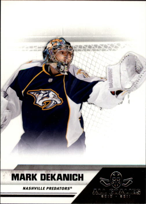 2010-11 Panini All Goalies #47 Mark Dekanich