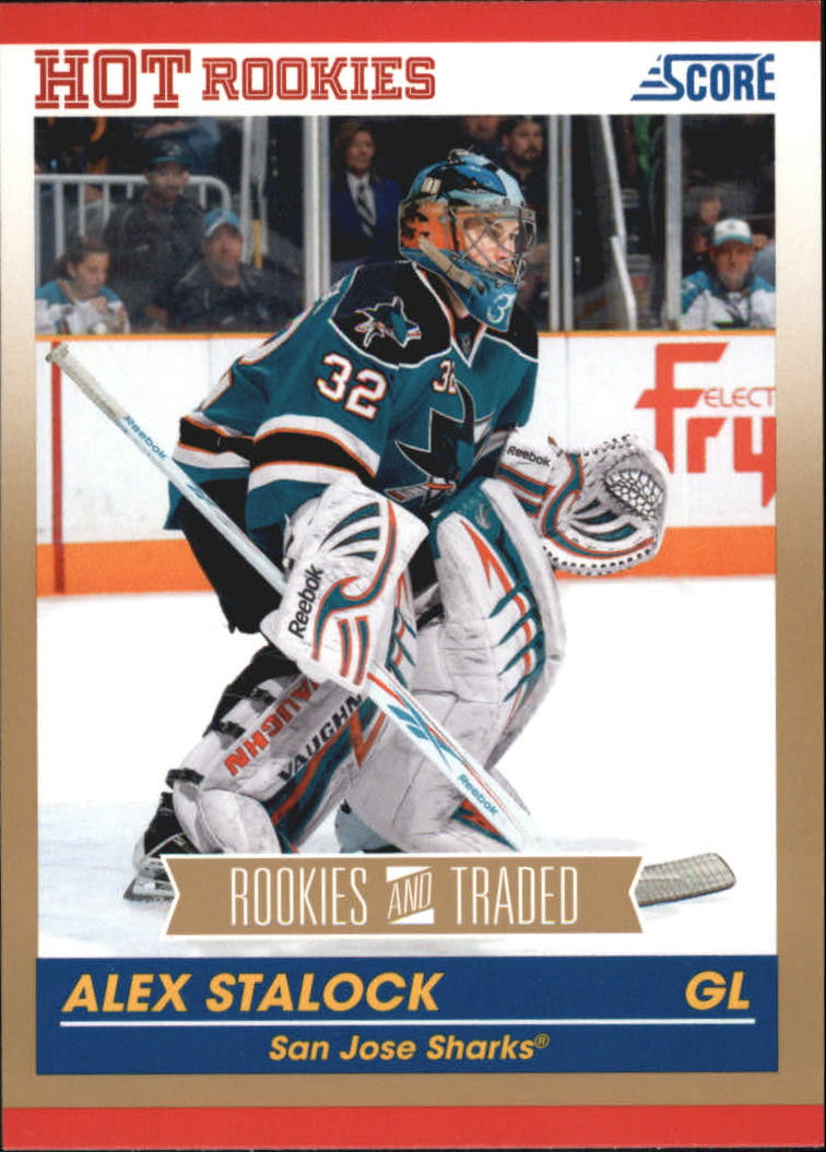 2010-11 Score Gold #625 Alex Stalock