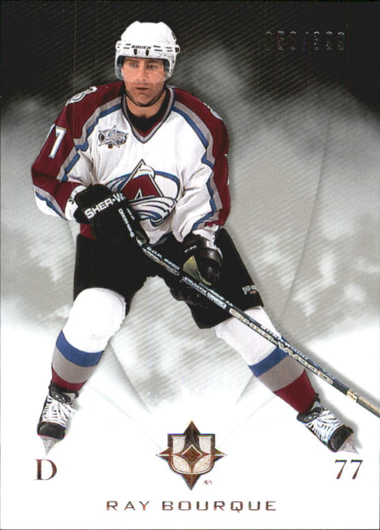 2010-11 Ultimate Collection #16 Ray Bourque