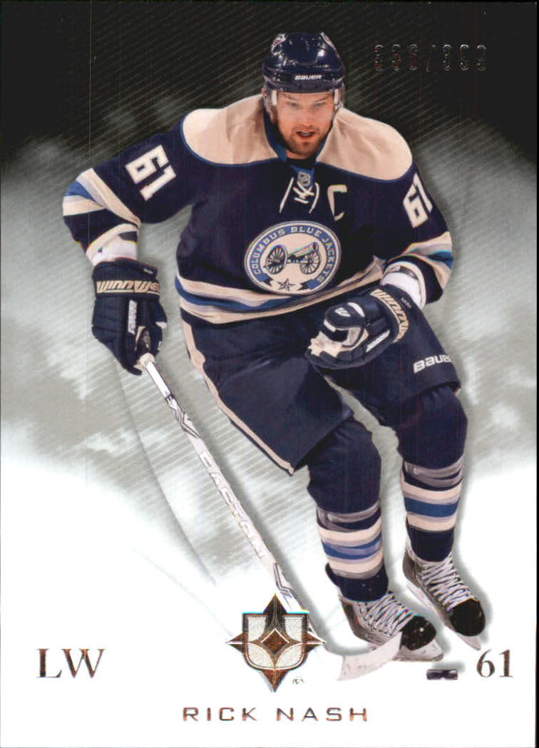 2010-11 Ultimate Collection #18 Rick Nash