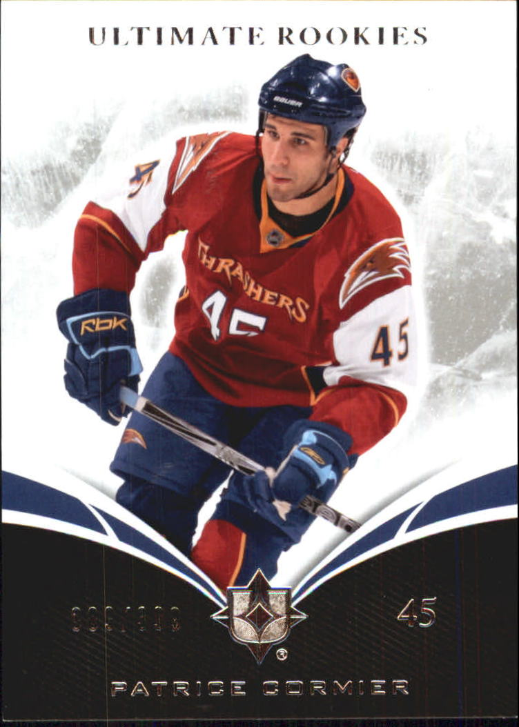 2010-11 Ultimate Collection #62 Patrice Cormier RC