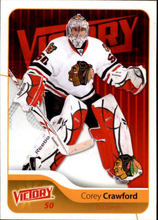 2011-12 Upper Deck Victory #49 Corey Crawford