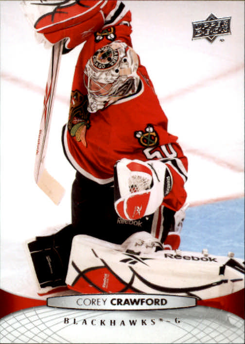 2011-12 Upper Deck #165 Corey Crawford
