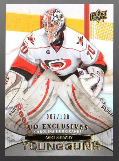 2011-12 Upper Deck Exclusives #461 Mike Murphy YG