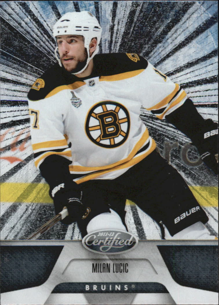 2011-12 Certified Totally Silver #10 Milan Lucic