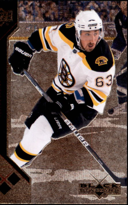 2011-12 Black Diamond #158 Brad Marchand