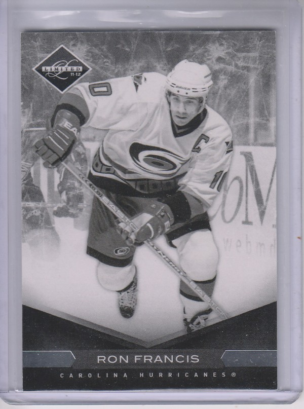 2011-12 Limited #23 Ron Francis