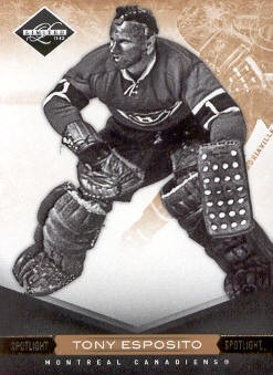 2011-12 Limited Gold Spotlight #8 Tony Esposito