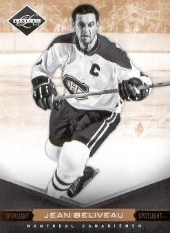 2011-12 Limited Gold Spotlight #19 Jean Beliveau