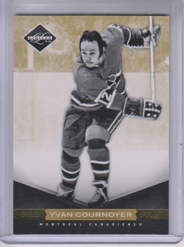 2011-12 Limited Gold Spotlight #21 Yvan Cournoyer