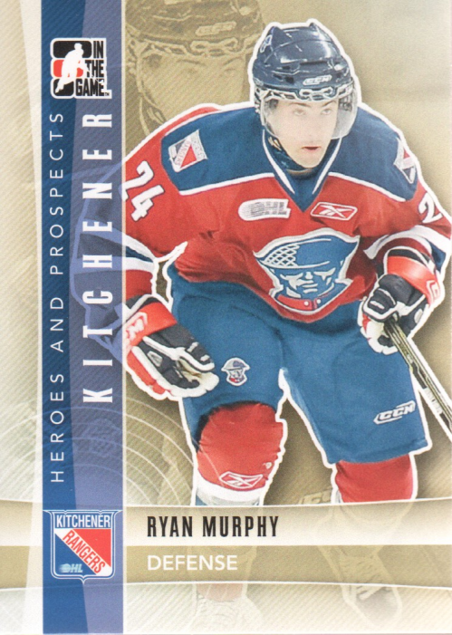 2011-12 ITG Heroes and Prospects #32 Ryan Murphy CP