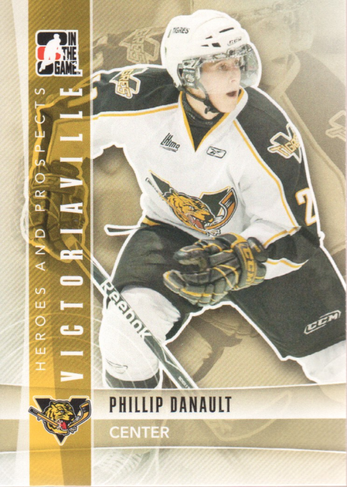 2011-12 ITG Heroes and Prospects #58 Phillip Danault CP