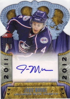 2011-12 Crown Royale #162 John Moore AU RC
