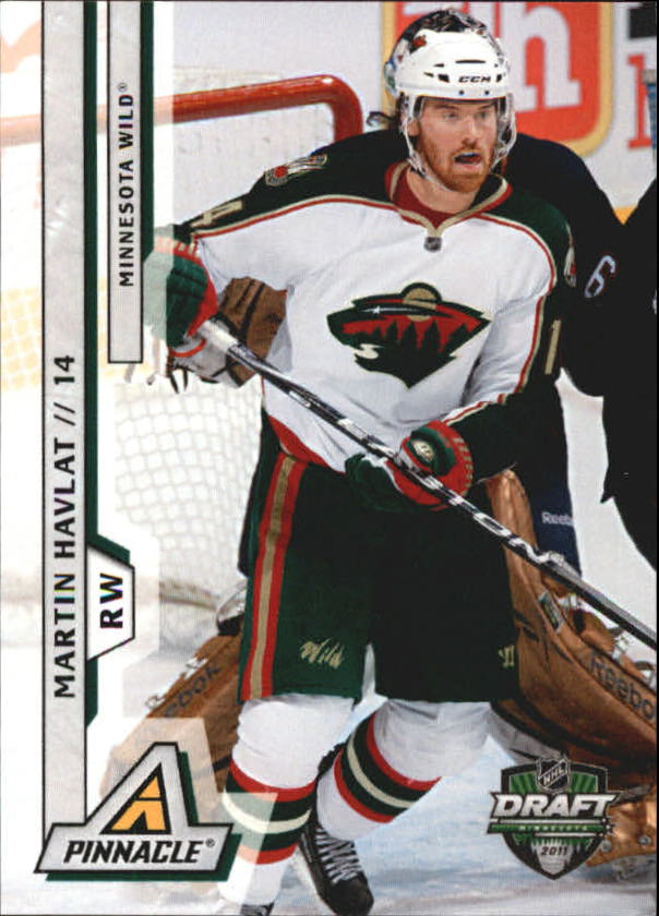 2011 Pinnacle NHL Draft Minnesota #1 Martin Havlat